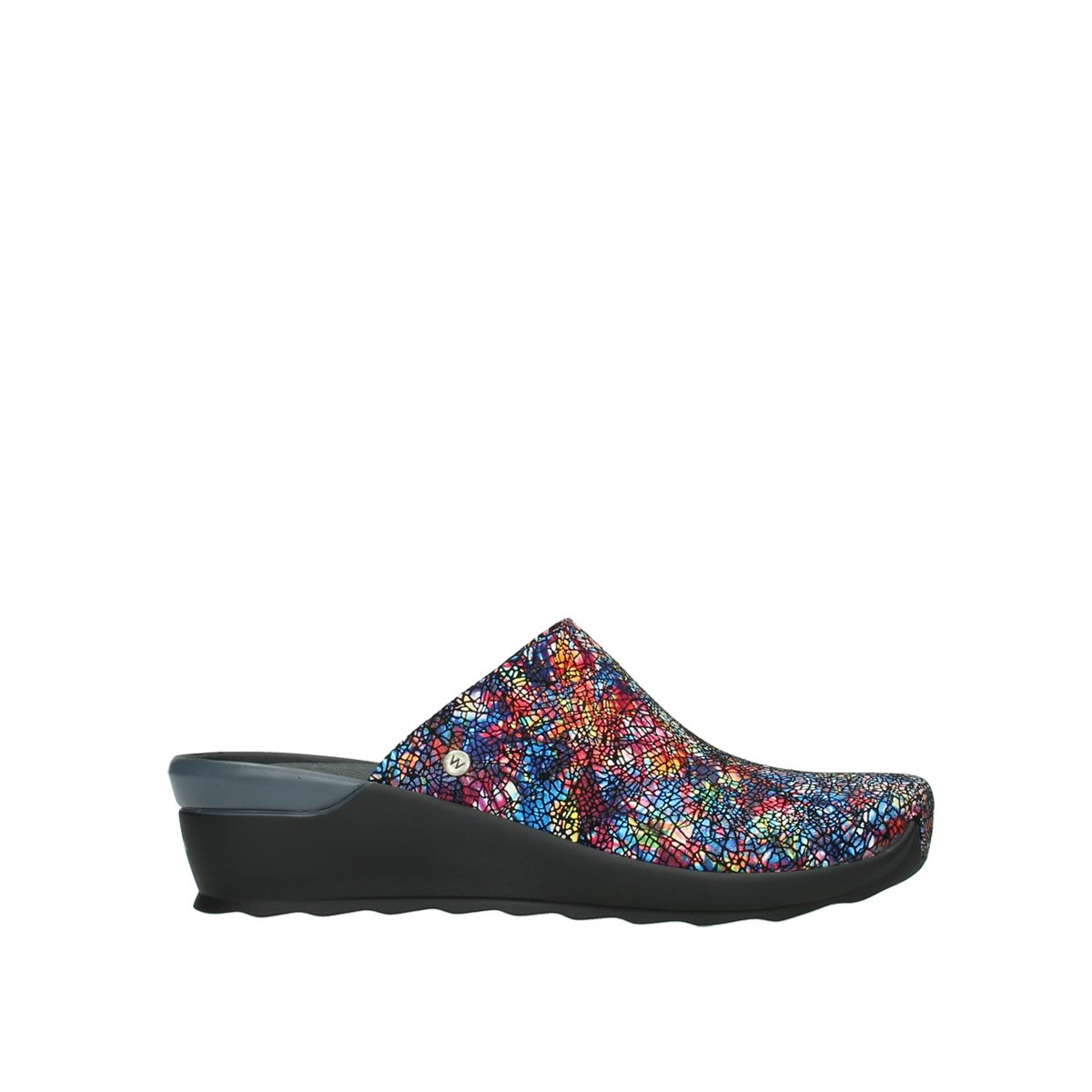 Wolky Comfort Sneakers Ewood B00WDWAH56 36 M EU|40970 Multi-black Mtallic Leather