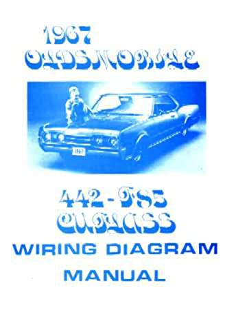 amazon com 1967 oldsmobile 442 cutlass f 85 electrical wiring rh amazon com 1967 oldsmobile wiring diagram 1972 Oldsmobile