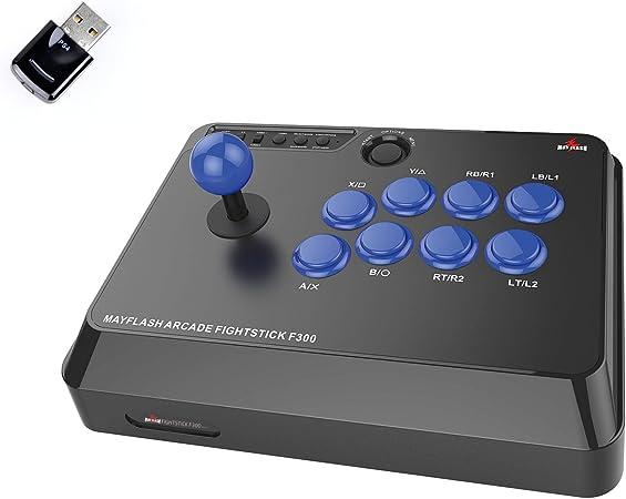 Mayflash F300 Arcade Fight Stick Und Magicboots Bundle Für Playstation 4 Computers Accessories