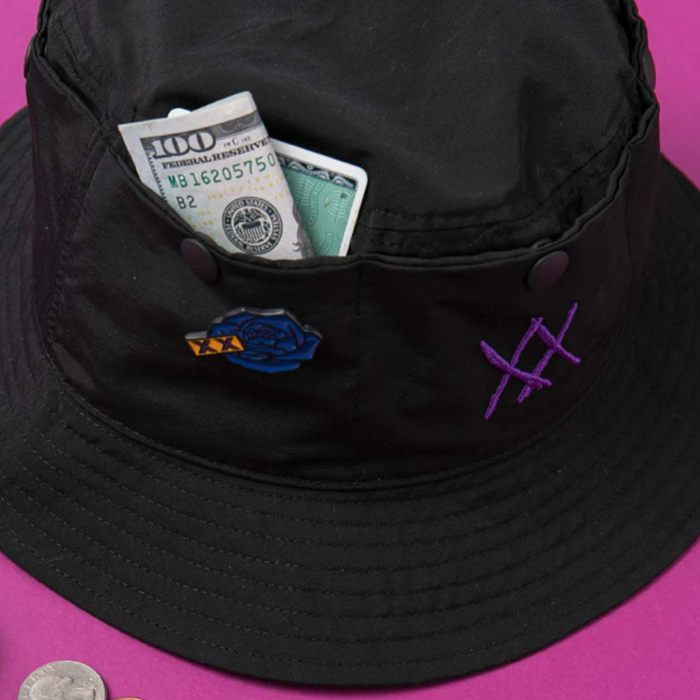 321e6dcb6f2 YG Entertainment Idol Goods Fan Products YG Select MINO XX Bucket HAT Black  at Amazon Women s Clothing store