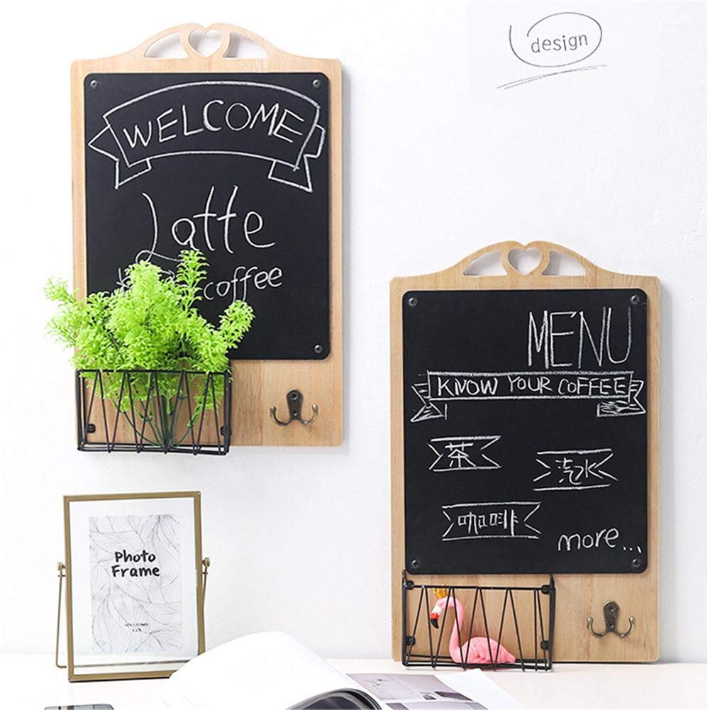 Amazon.com: Black Board-Standing Chalk Board -Blackboard ...