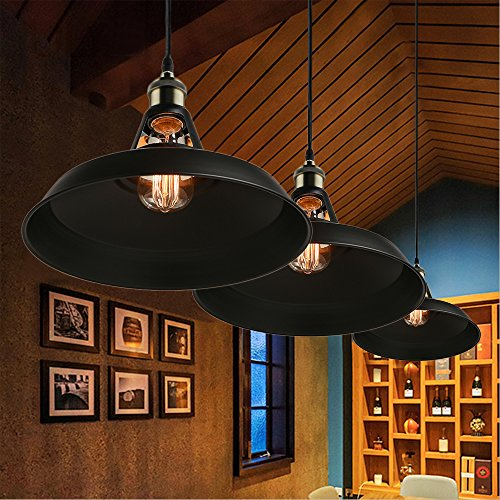 NEW Light Pendant Retro Industrial Pendant Paint Metal