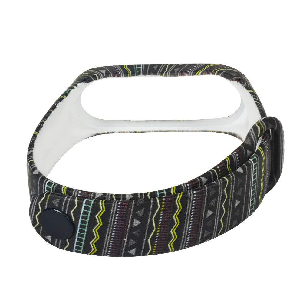 Barthylomo Xiaomi Mi Band 3 Watch Bands Soft Silicone Watch Bracelet Watch Replacement Band Wrist Watches Accessories