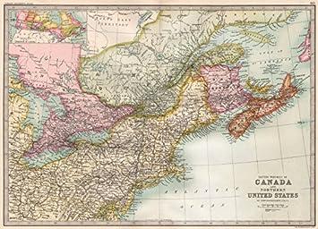 Amazoncom CANADAUS ATLANTIC COAST Eastern seaboard BARTHOLOMEW