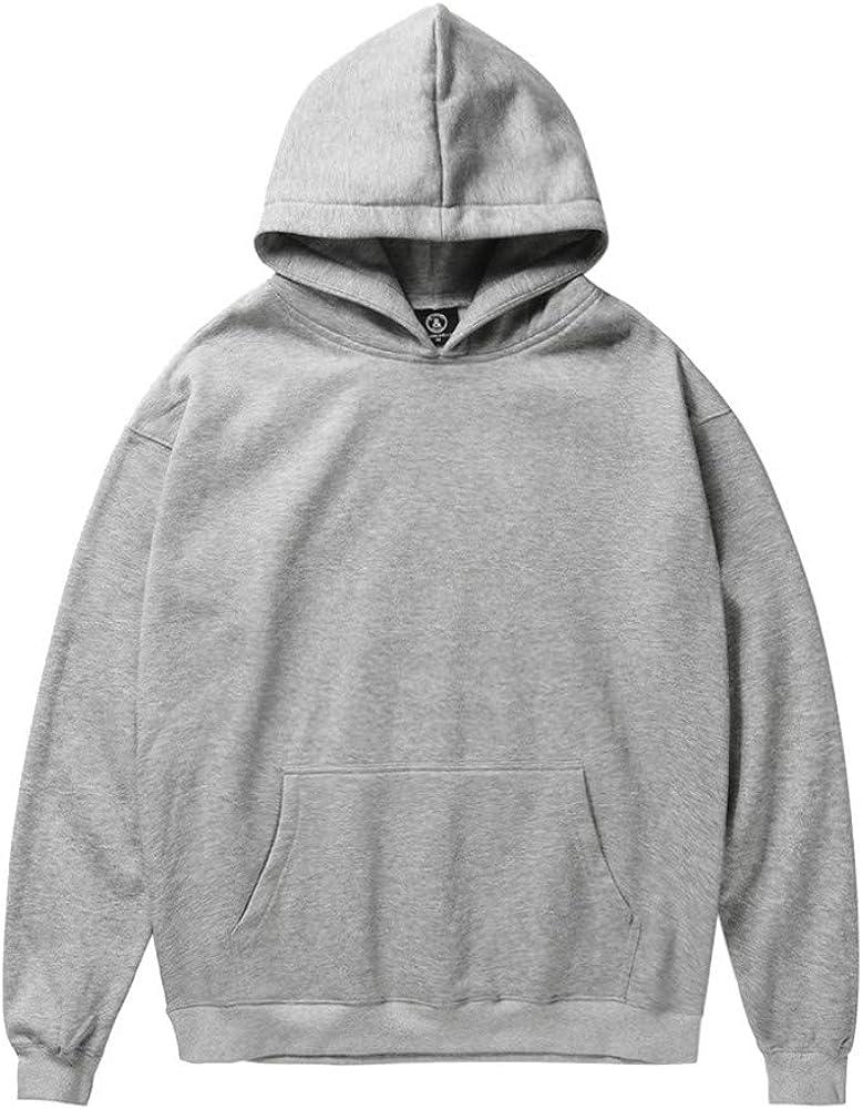Siviki Men Winter Hoodie Coat Slim Hoodie Warm Santa Claus Print Long Sleeve Pullover Sweatshirt Hooded Outwear Tops Sweater