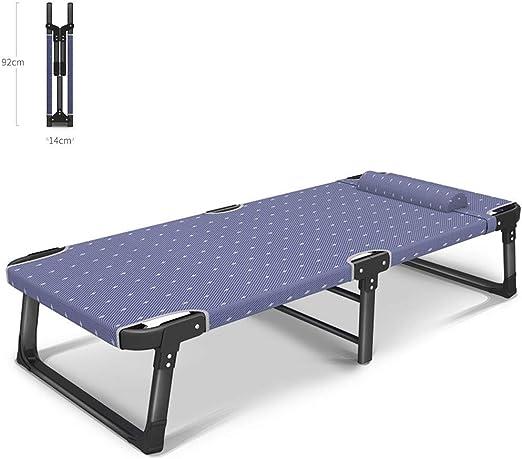 HPDOL Silla De Playa Plegable/Reclinable PortáTil para JardíN/Tumbona/Camper Camper con CóModo Reposacabezas para JardíN/Piscina/BalcóN. Soporta 200kg, BLCE-01: Amazon.es: Jardín