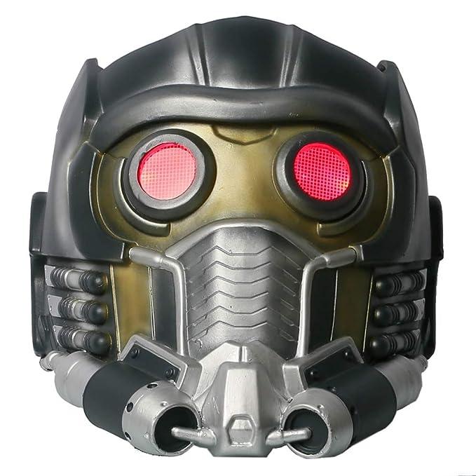 Tutores Star Cosplay máscara de señor luz Up LifeSize PVC ...
