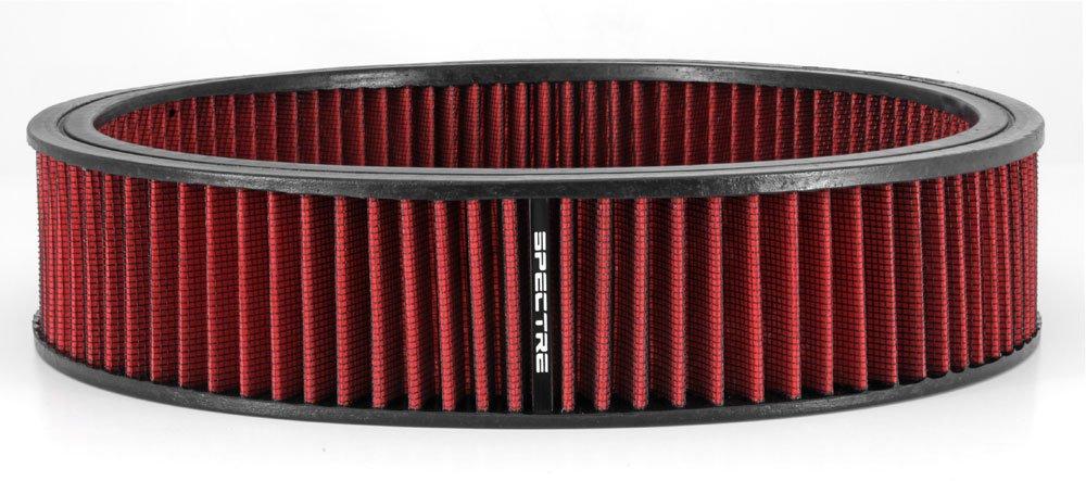 Spectre 48022 Air Filter 14 X 3 Cotton Fiber Red SPE-48022