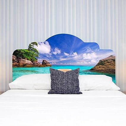 Amazon.com: 3D DIY Wall Sticker for Bedroom Imitation Bed ...