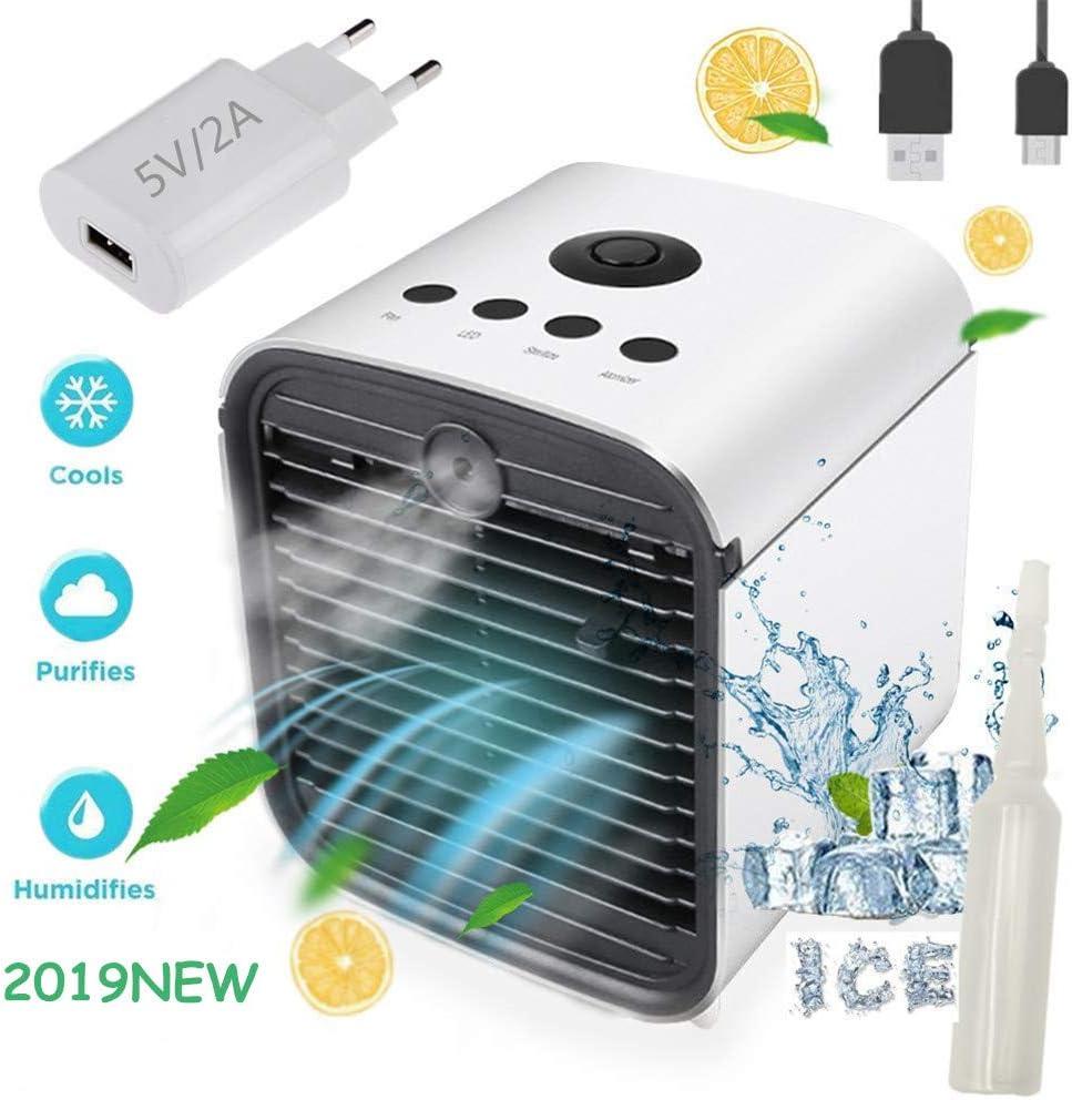 Nifogo 3 en 1 Climatizador Evaporativo Air Mini Cooler Aire ...