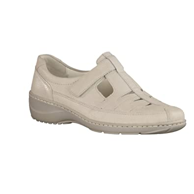 Waldläufer Damen Slipper 607501-172-120-Kya Beige 163710