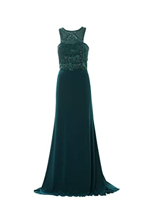 Sherri Hill Vestido Largo Color Verde Agua Verde 40