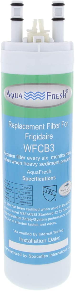 Aqua Fresh Replacement for WF3CB Refrigerator Water Filter