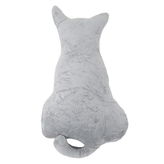 chinget Super Suave Forma de Gato cojín Dormitorio sofá ...