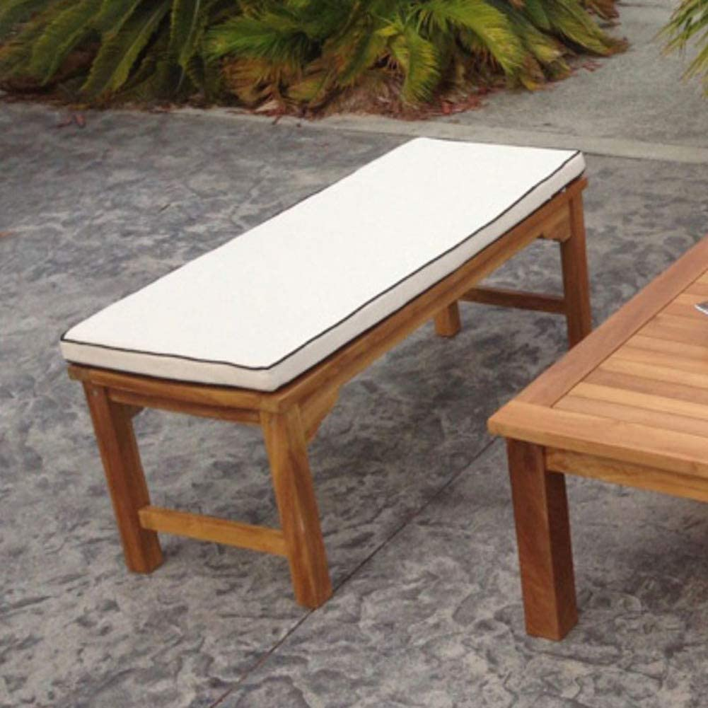 YQ WHJB Not-Slip Bench Cushions,Thicken Long Chair Cushion Pads,Washable Patio Tatami Seat Cushions,Cotton Rectangle Floor Cushion A 100x40x5cm(39x16x2inch)