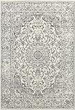 3212 Distressed Silver 7'10x10'6 Area Rug Carpet