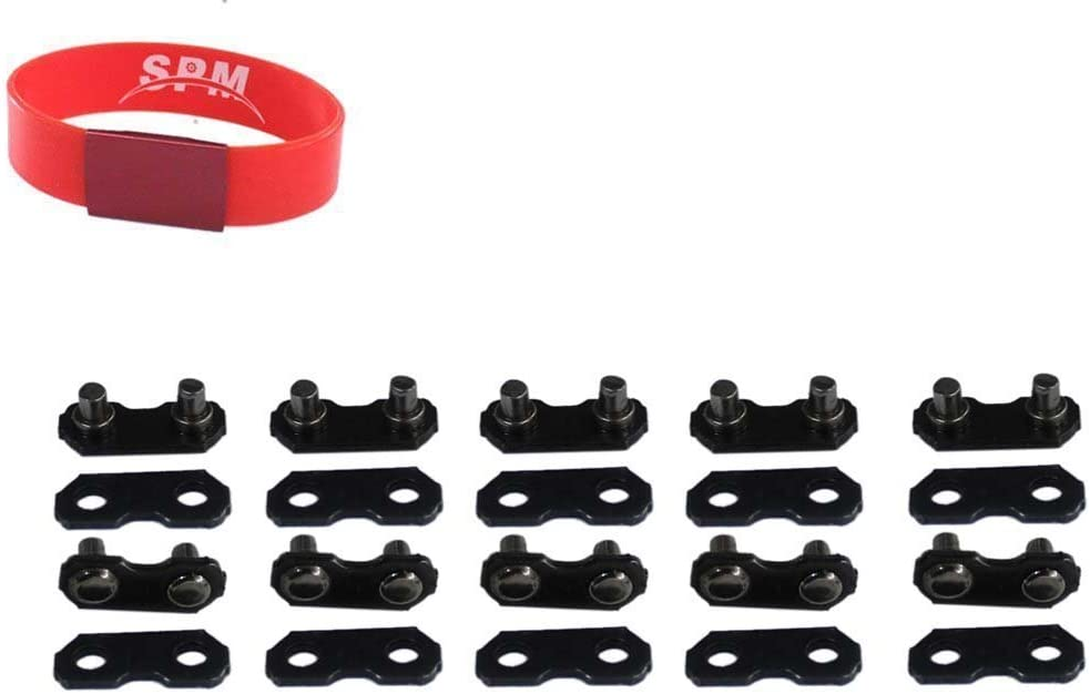 """30 x 3//8/"""" Chainsaw Chain Repair Kits For 3//8-LP Type 91 Master Link Tie Straps"""