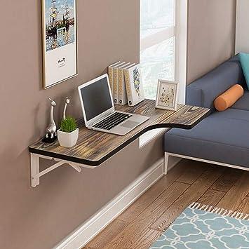 BGZ Mesa plegable de pared Mesa de escritorio de esquina de ...