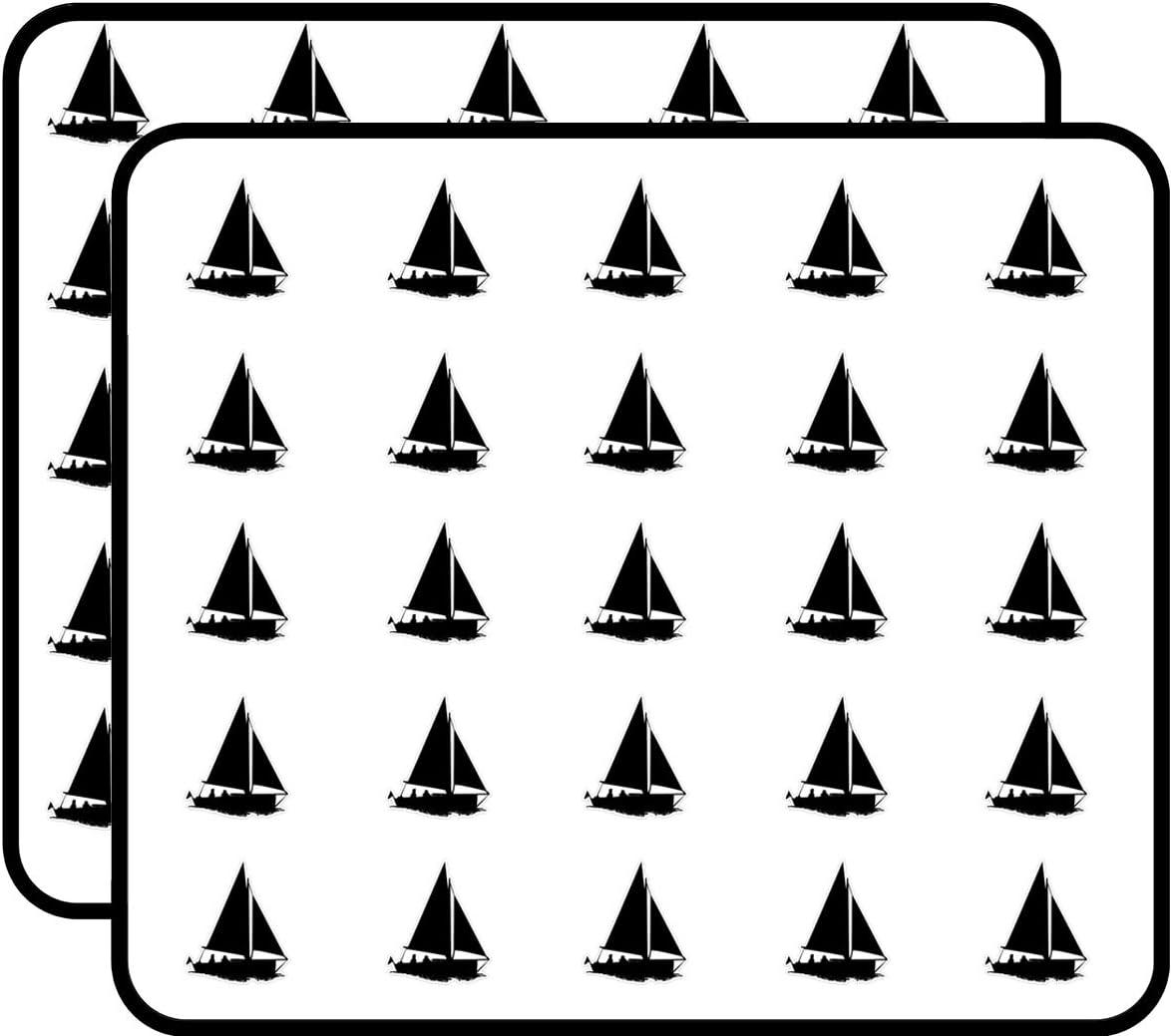 Sailboat Sticker for Scrapbooking, Calendars, Arts, Kids DIY Crafts, Album, Bullet Journals 50 Pack