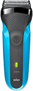 Braun Series 3 310s Rechargeable Wet and Dry Electric Shaver, Blue