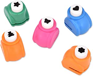DS. DISTINCTIVE STYLE Mini Paper Punch Shapes 5 Pieces Craft Punchers Hole Punches for Scrapbooking