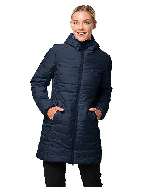 pretty nice 4303e 5c49d Jack Wolfskin Maryland Coat, leichter, winddichter und atmungsaktiver  Mantel für Damen, wasserabweisende Steppjacke für Damen, sehr warm  wattierter ...