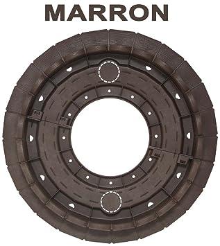 Bordure de jardin en résine composite MARRON: Amazon.fr: Jardin