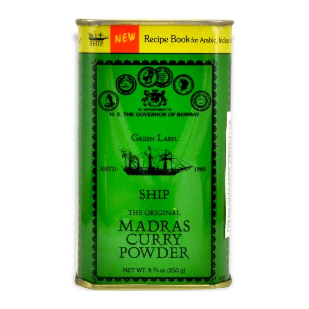 Ship Madras Curry Powder 250g