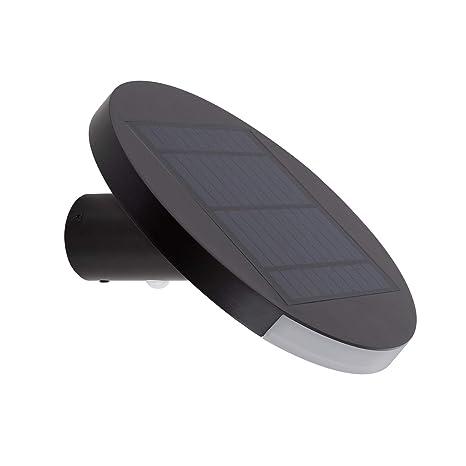 Aplique LED Solar Nairobi con Detector de Movimiento PIR IP65 Blanco Frío 5700K-6200K efectoLED