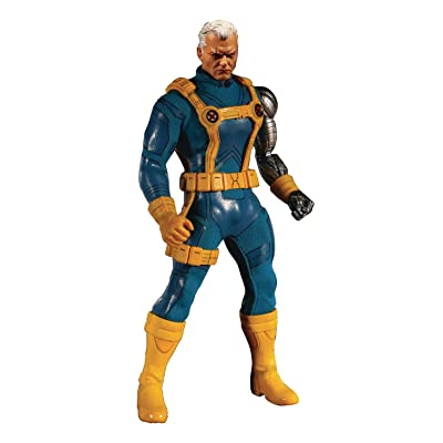 Mezco One: 12 Collective: Marvel Cable (X-Men Version) Action Figure, Multicolor: Toys & Games