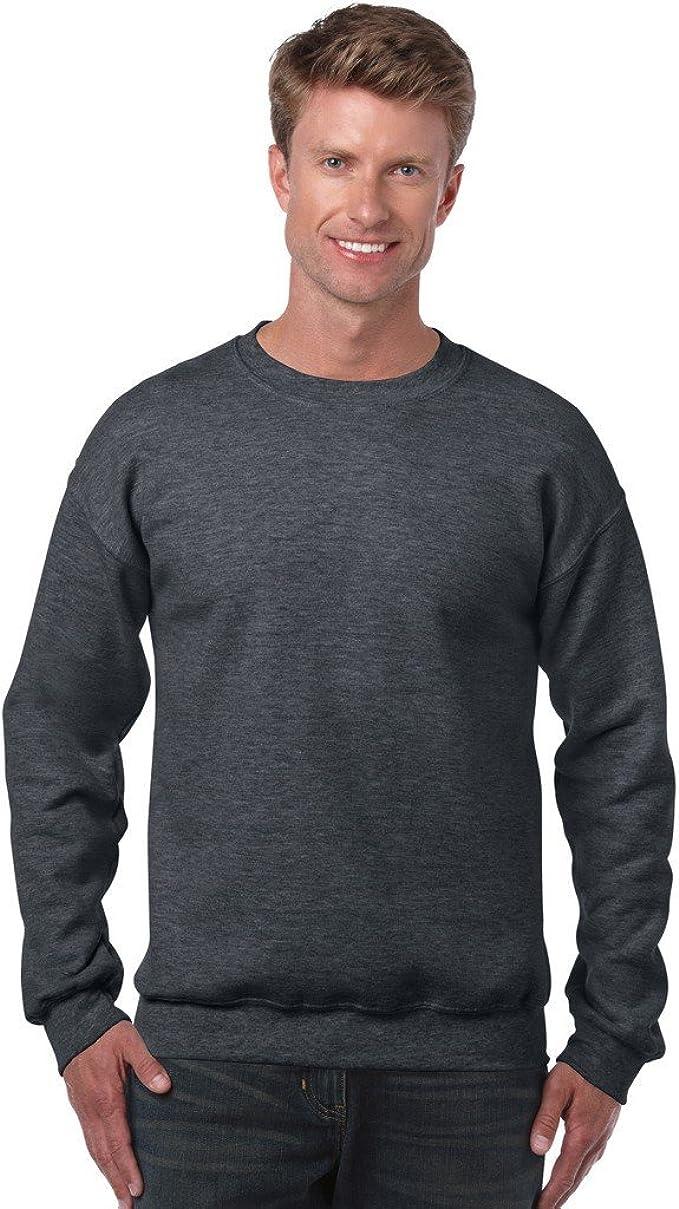 Heavy Blend Crew Neck Sweatshirt Black XL G180B
