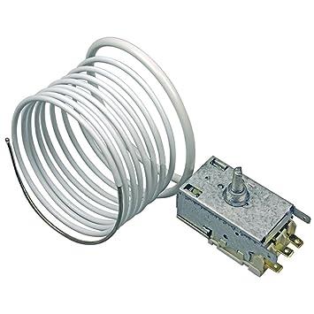 De madreperla y crin de termostato para nevera y congelador Liebherr Sensor de temperatura (K57