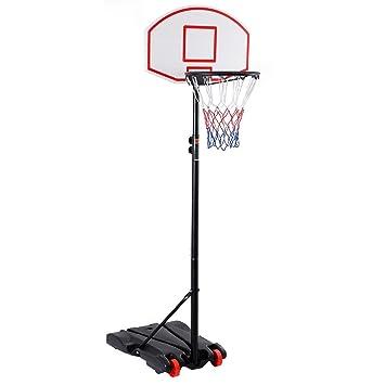 Amazon.com : Giantex Adjustable Basketball Hoop System Stand Kid ...