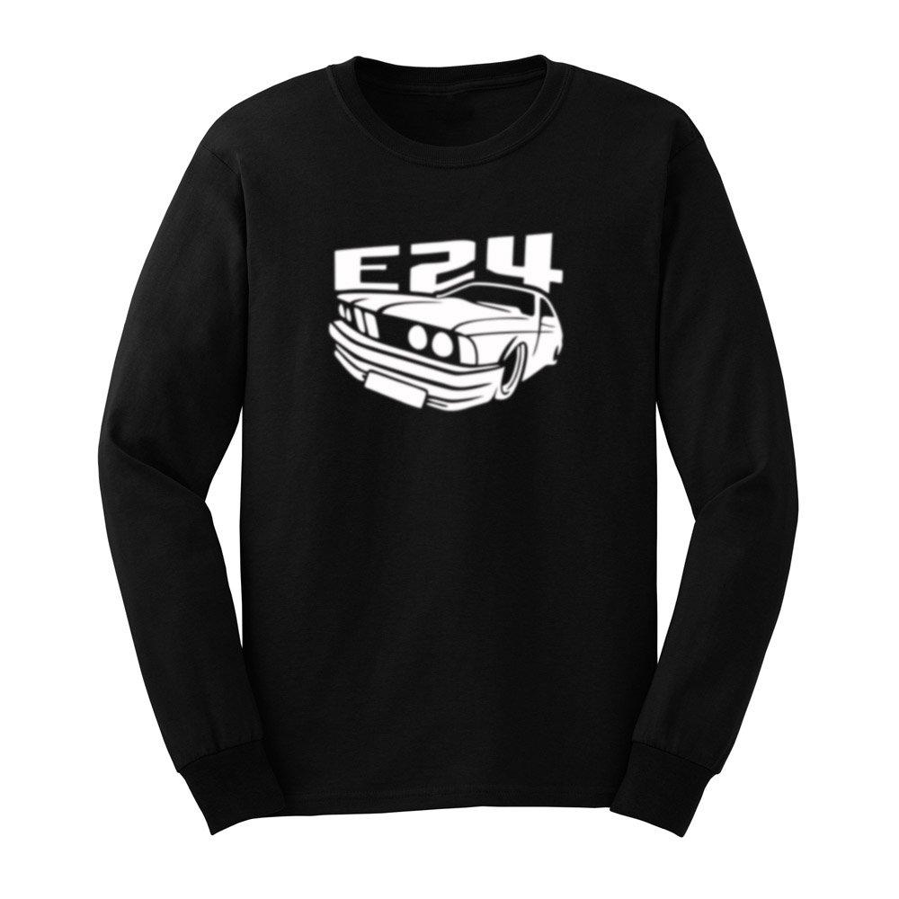 S Powerful E24 Car Fans T Shirts Casual Tee