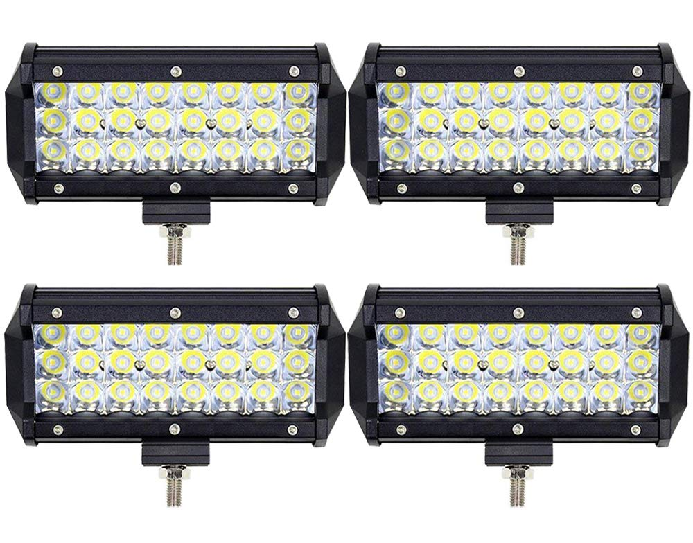 6er 72W LED Arbeitsscheinwerfer Scheinwerfer Offroad Flutlicht IP67 SUV LKW UTV
