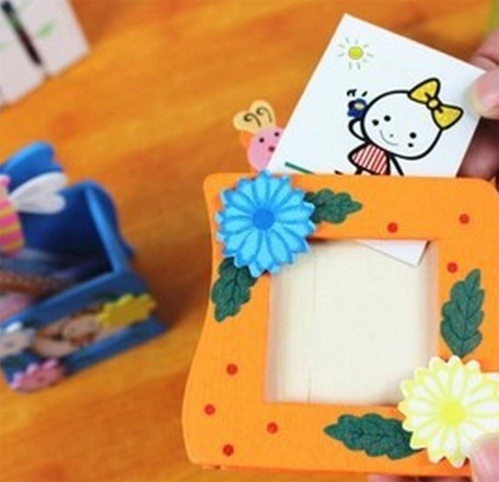 Yo legno penna pot ufficio da scrivania organizer portaoggetti cartoon Animal Flower desktop organizer portapenne per bambini scatola di bamb/ù vi cancelleria