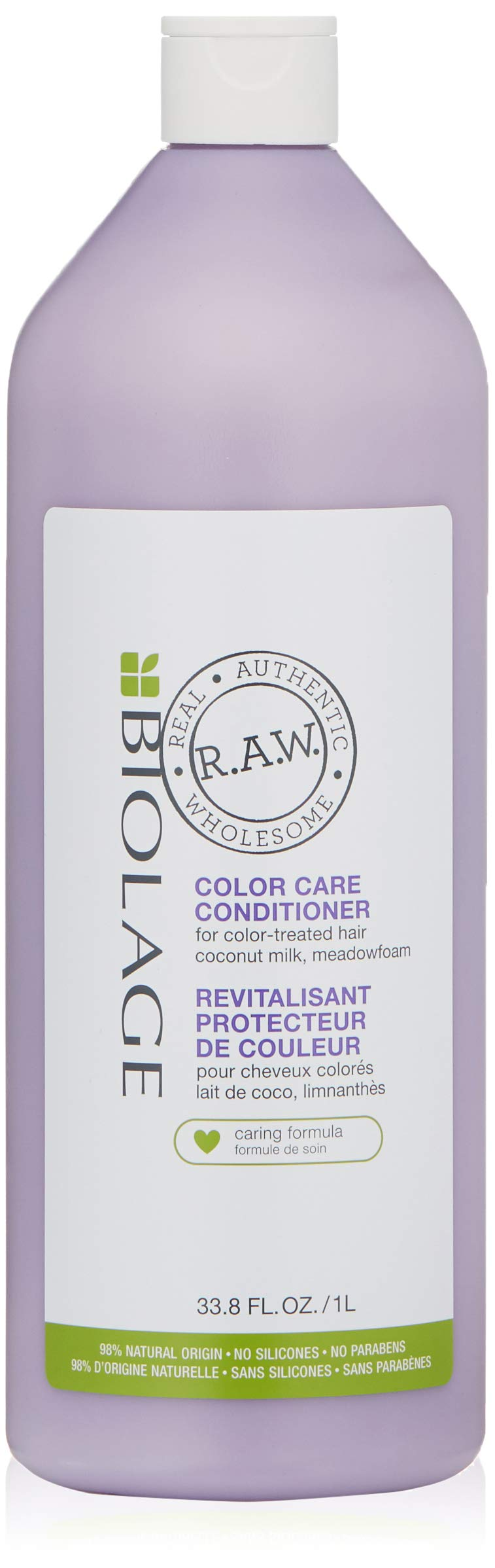 Biolage R.A.W. Color Care Conditioner for Color Treated Hair with Coconut Milk and Meadowfoam by BIOLAGE