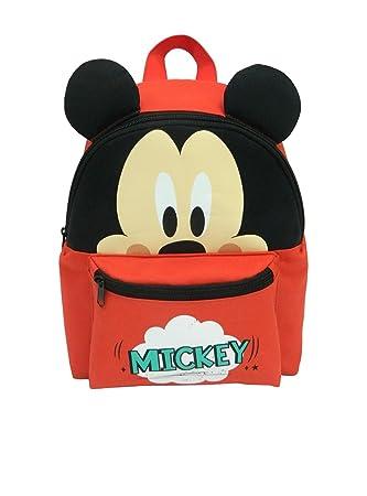 Mickey and Minnie Mochila infantil, rojo (Rojo) - DIS1119: Amazon.es: Equipaje