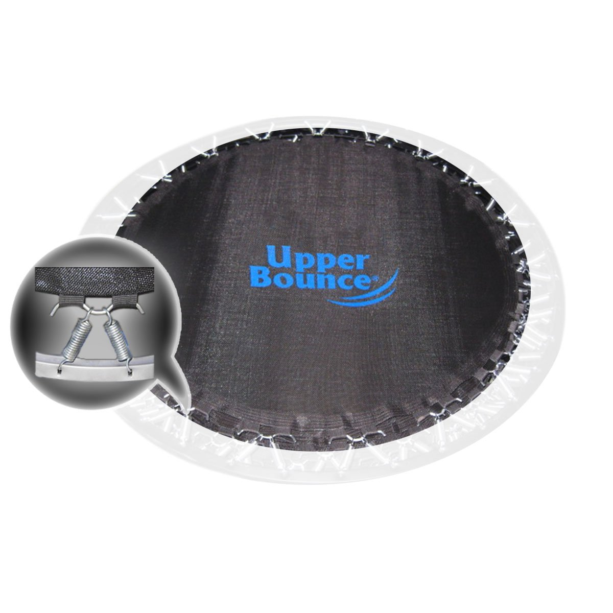 Upper Bounce Mini Trampoline Replacement Jumping Mat, fits for 36 Inch Round Frames, Using 30 3.5'' Springs -MAT ONLY by Upper Bounce