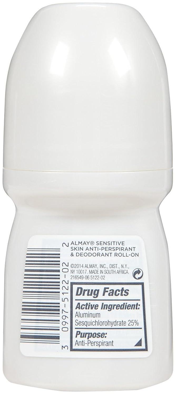 Almay Clear Gel Antiperspirant Deodorant for Women, Hypoallergenic, Dermatologist Tested for Sensitive Skin, Fragrance Free, 2.25 oz : Antiperspirant Deodorants : Beauty