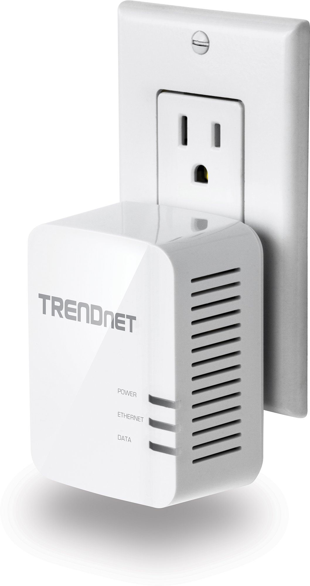 TRENDnet Powerline 1200 AV2 Single Adapter with Gigabit Port, Plug and Play, MIMO, Beamforming, TPL-420E by TRENDnet (Image #3)