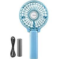 EasyAcc handheld ventilator elektrische USB fans Mini draagbare buitenventilator met oplaadbare 2600 mAh opvouwbare…