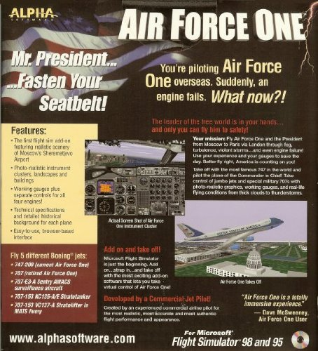 Amazon com: Air Force One for Microsoft Flight Simulator 98