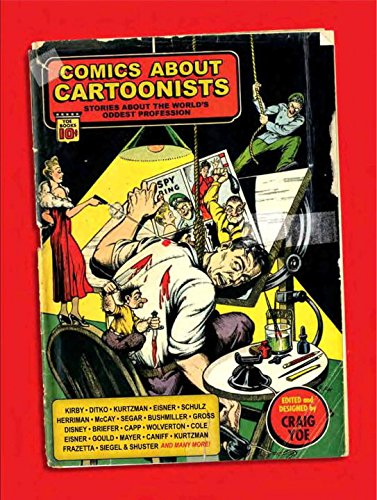 Comics About Cartoonists: Stories About the World's Oddest (Funny Cartoons About Halloween)