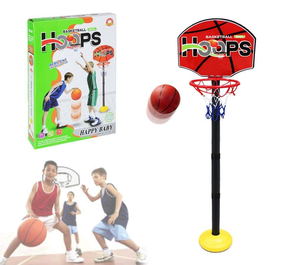 MEDIA WAVE store 401269 Playset Basket per Bambini canestro Regolabile in Altezza con Palla