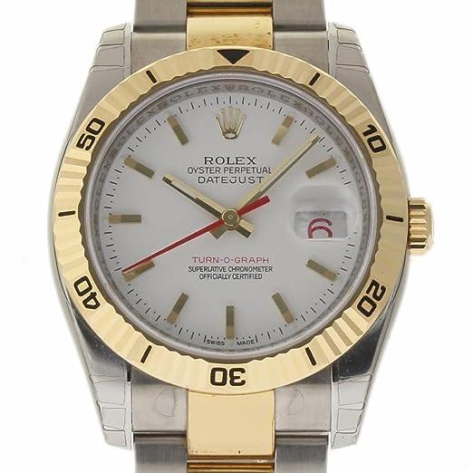 Rolex Datejust swiss-automatic Mens Reloj 116263 (Certificado) de segunda mano: Rolex: Amazon.es: Relojes