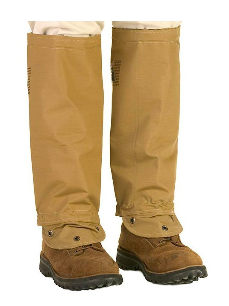 TurtleSkin SnakeArmor Snake Gaiters Khaki, Regular