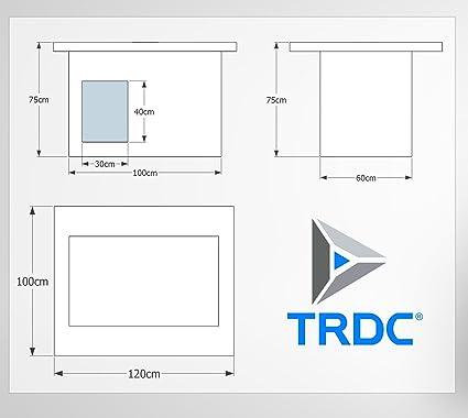 TRDC 119 caseta Aislante, Artic 40 mm: Amazon.es: Productos para mascotas