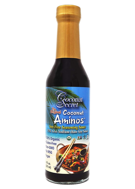 Coconut Secret Coconut Aminos Sauce Organic 8 oz (1 Pack)