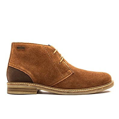 f12101ea690 Amazon.com   Barbour Mens Readhead Office Shoes Leather Work Chukka ...